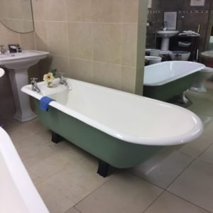 Cast Iron Edwardian Bath