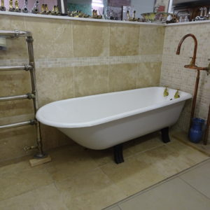 Small Antique Roll top Bath