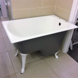 French Cast Iron Sitz Bath