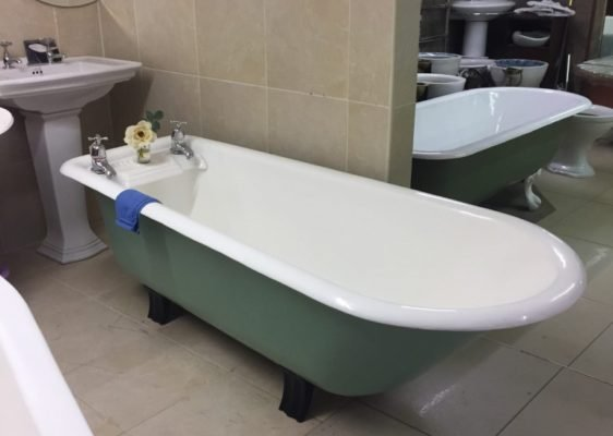 Cast Iron Edwardian Bathtub
