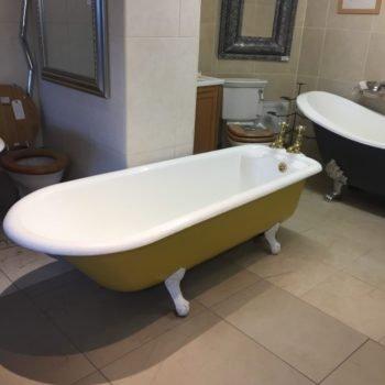 antique plunger bath