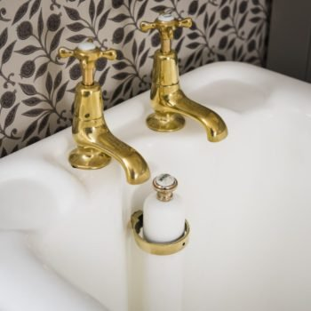 Brassware. Taps and accessories for your antique vintage bath