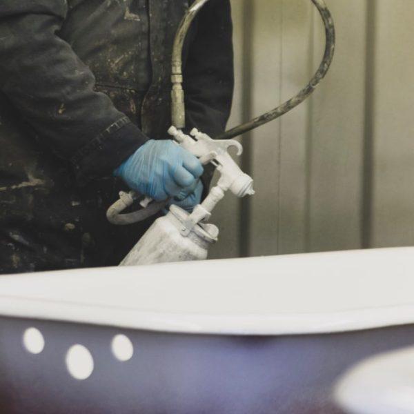 cast iron bath restoration