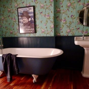Very Large Original Roll Top Bath