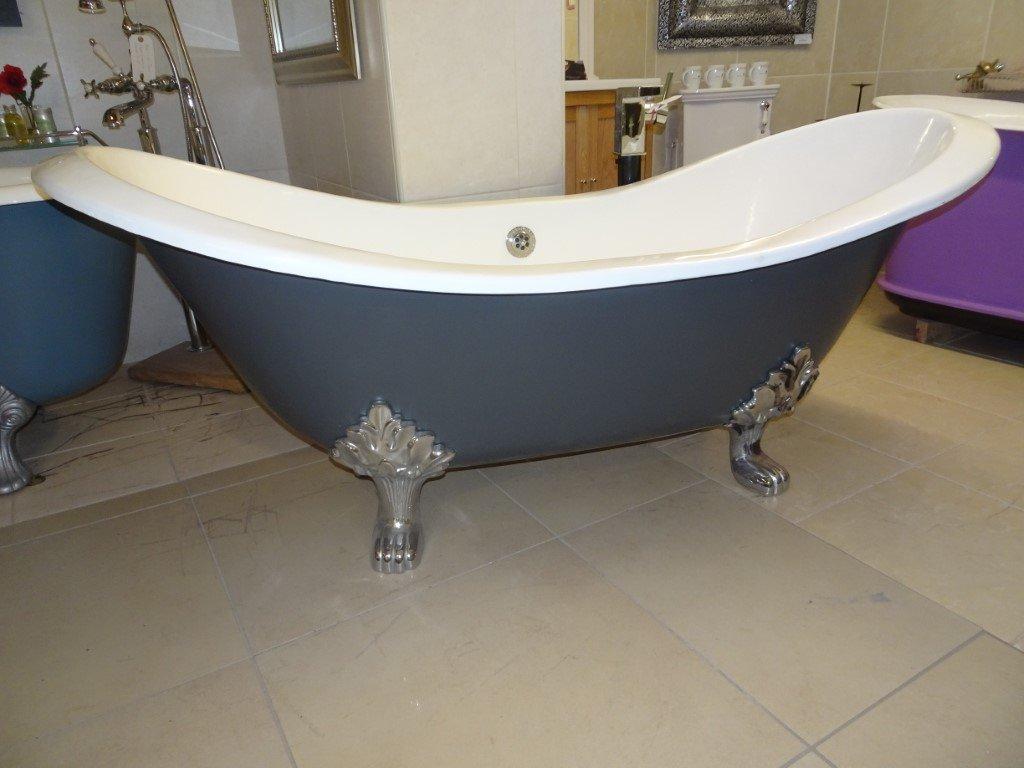 Double Ended Slipper Bath