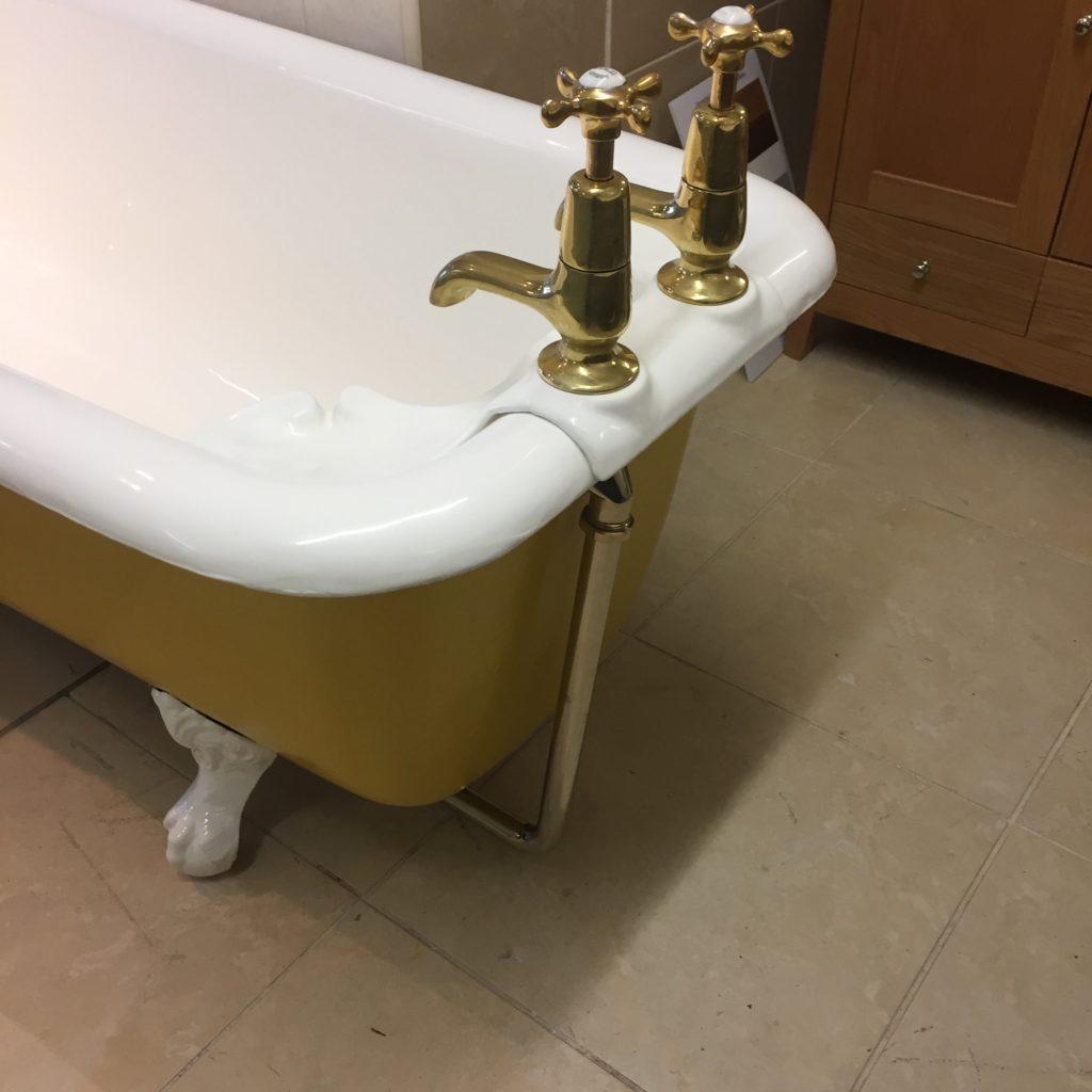 cast iron antique plunger bath