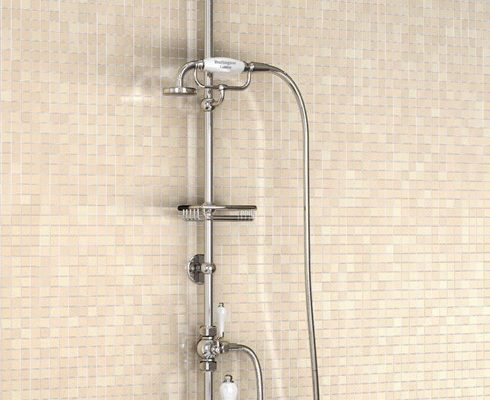 Bath Shower Mixer Set for over the Bath showering