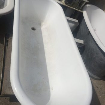 restored antique bathtub