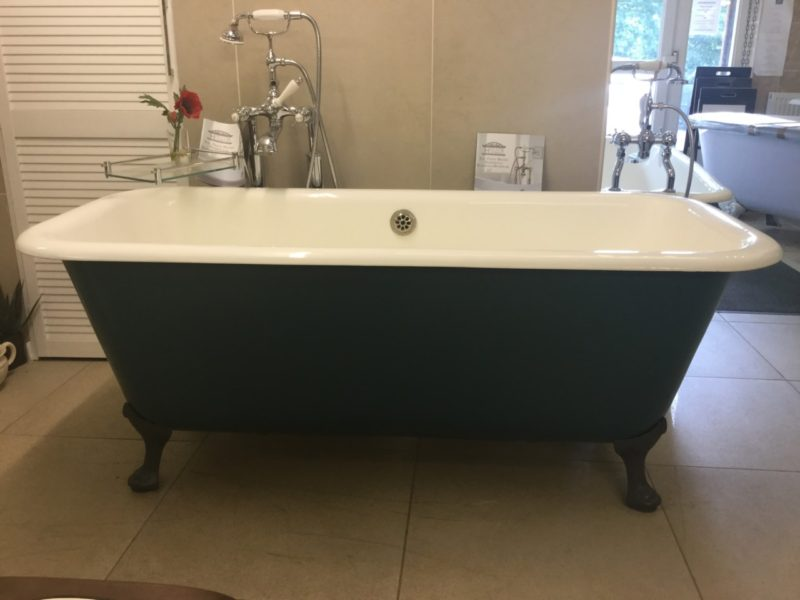 French Double Ended Bath