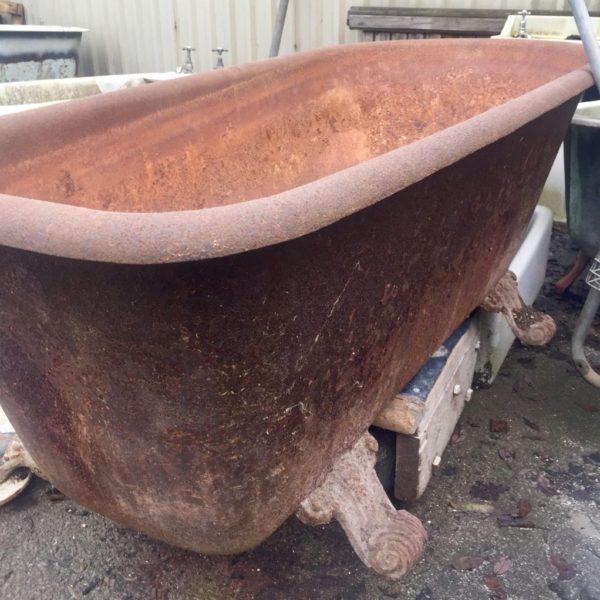 antique cast iron baths