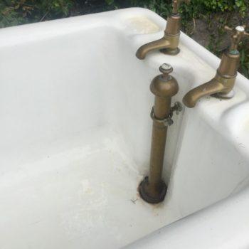 cast iron roll top bath taps