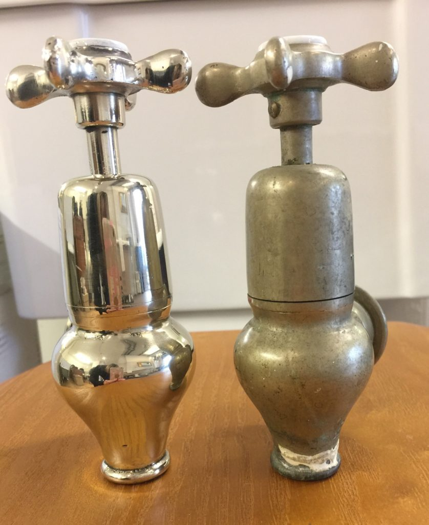 Refurbished globe taps