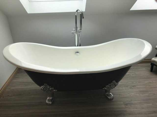 Squirrel Bath - Reproduction victorian bath