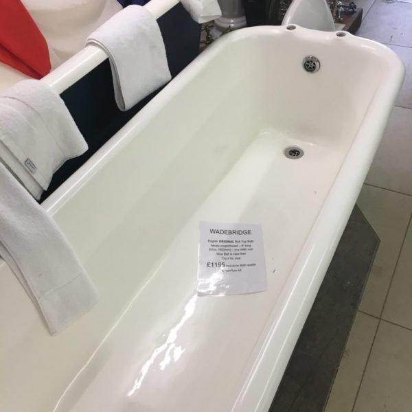 Wadebridge cast iron Bath
