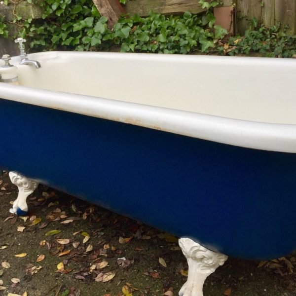 antique cast iron baths