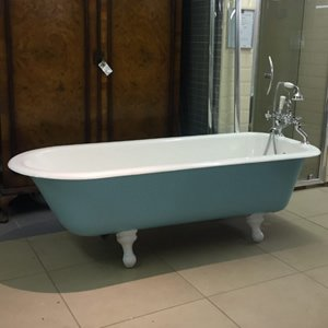 Cast iron roll top baths we have sold in the past