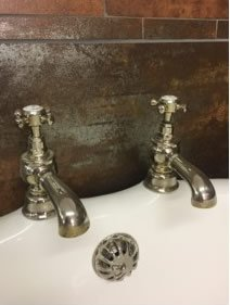 taps for cast iron roll top bath